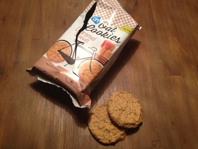 Review: AH Oat cookies caramel seasalt