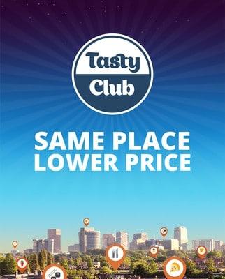 Tasty Club app