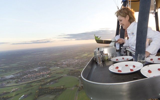 Bijzondere restaurants op grote hoogte