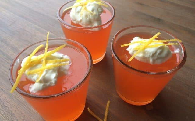 Aperol Spritz jelly