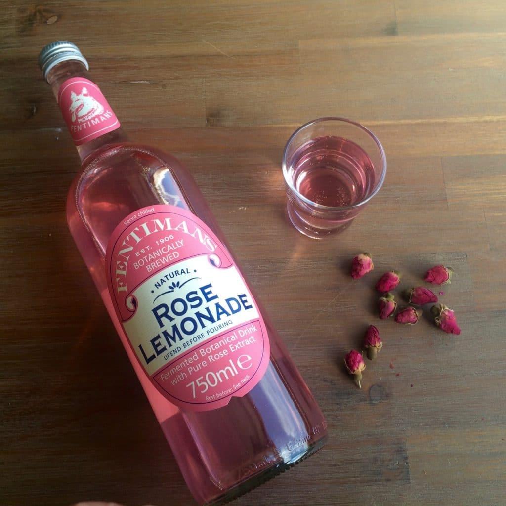 Rose lemonade - rozenlimonade