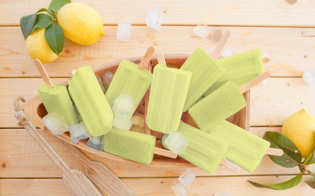 Limoncello popsicles