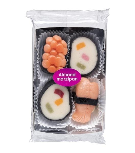 Marsepein sushi