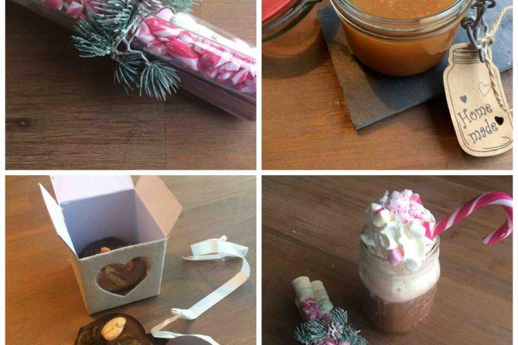 Homemade: salted caramel, chocoladeflikken en chocolademelkset