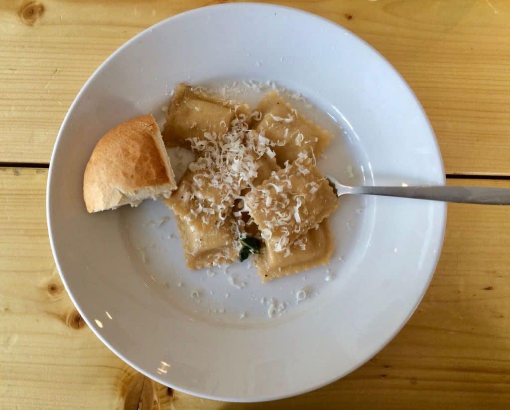 Spaghetteria pasta-bar: ravioli