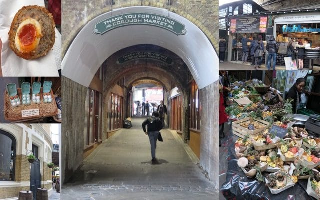 London calling! Borough Market en Shoreditch