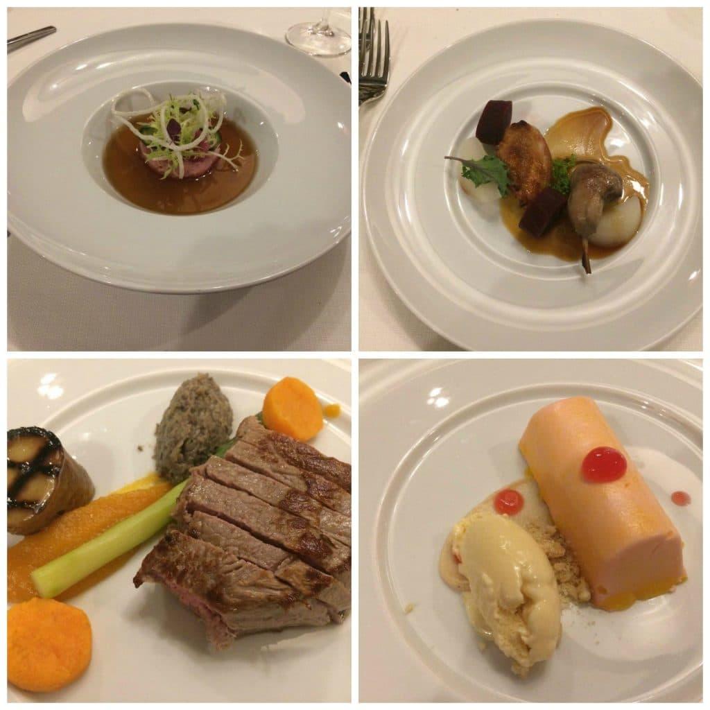 Vijfgangen menu restaurant Savarin