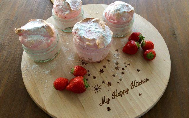 Week van de zomerkoninkjes: aardbeiensoufflé