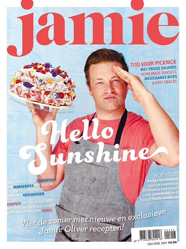 Cover Jamie magazine