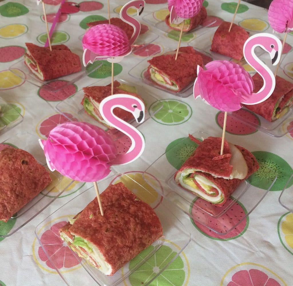 21-diner Roze bietenwraps