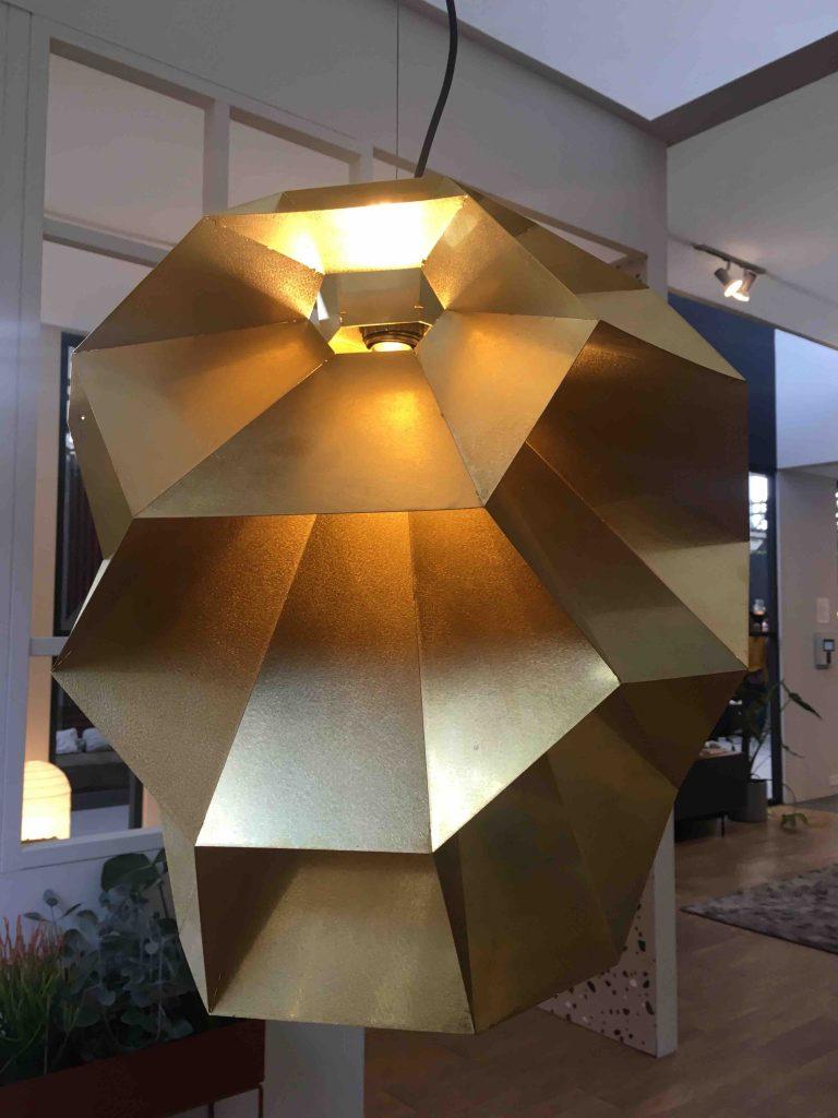 Lichtplan lamp goud