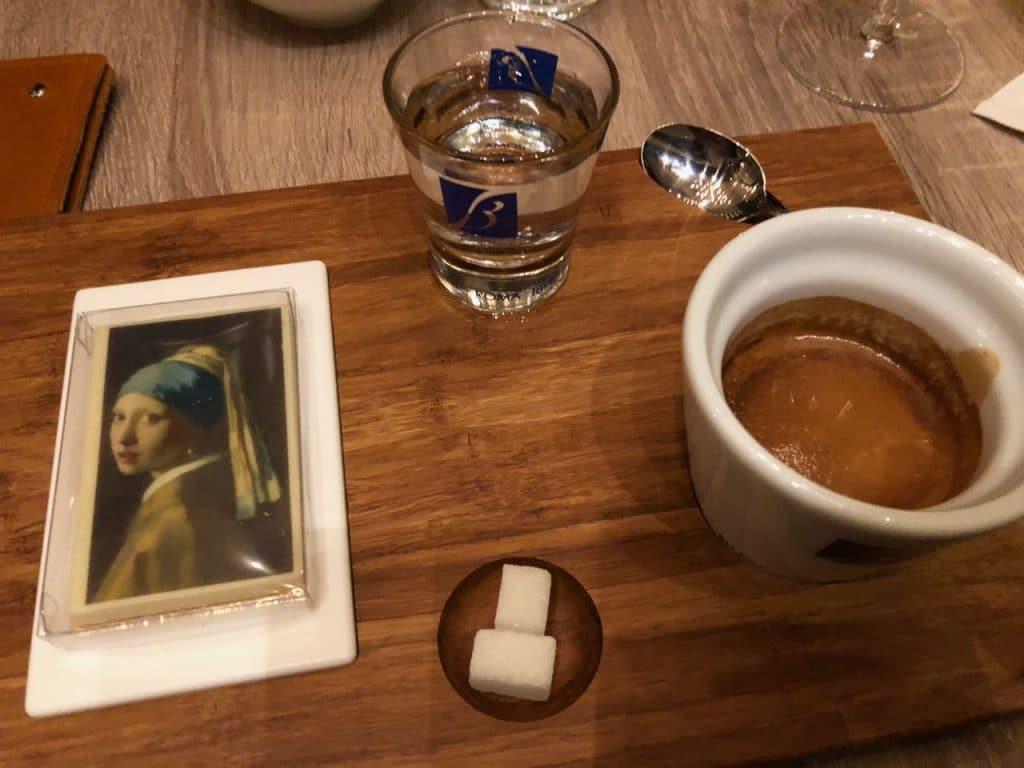 Restaurant Pearl: koffie