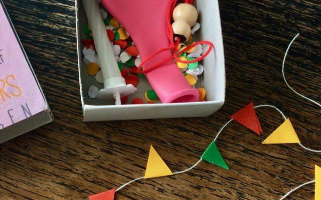 DIY: een feestje in een doosje