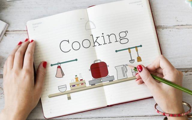 Tip om efficiënt te werken: weekmenu en foodprepping