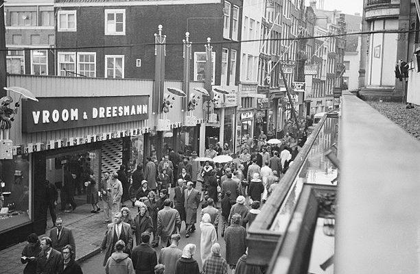 Geschiedenis van Vroom & Dreesmann