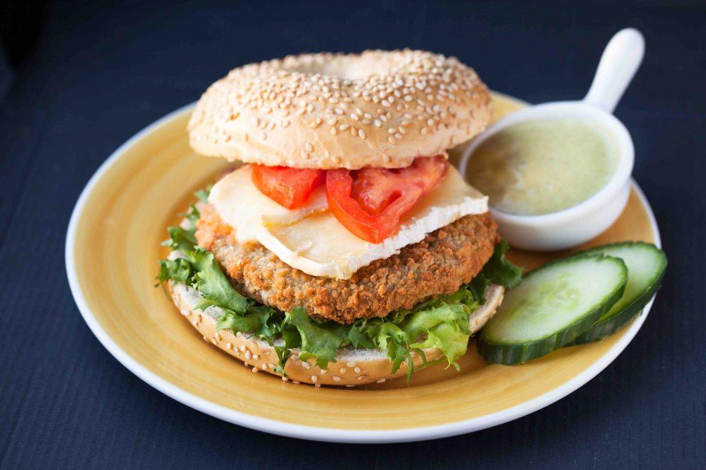 Broccolbrie burger