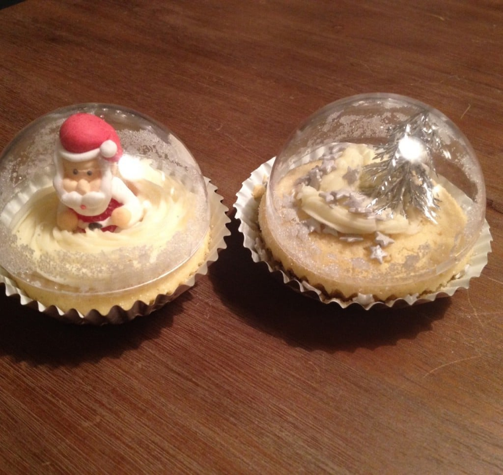 Sneeuwbal cupcakes