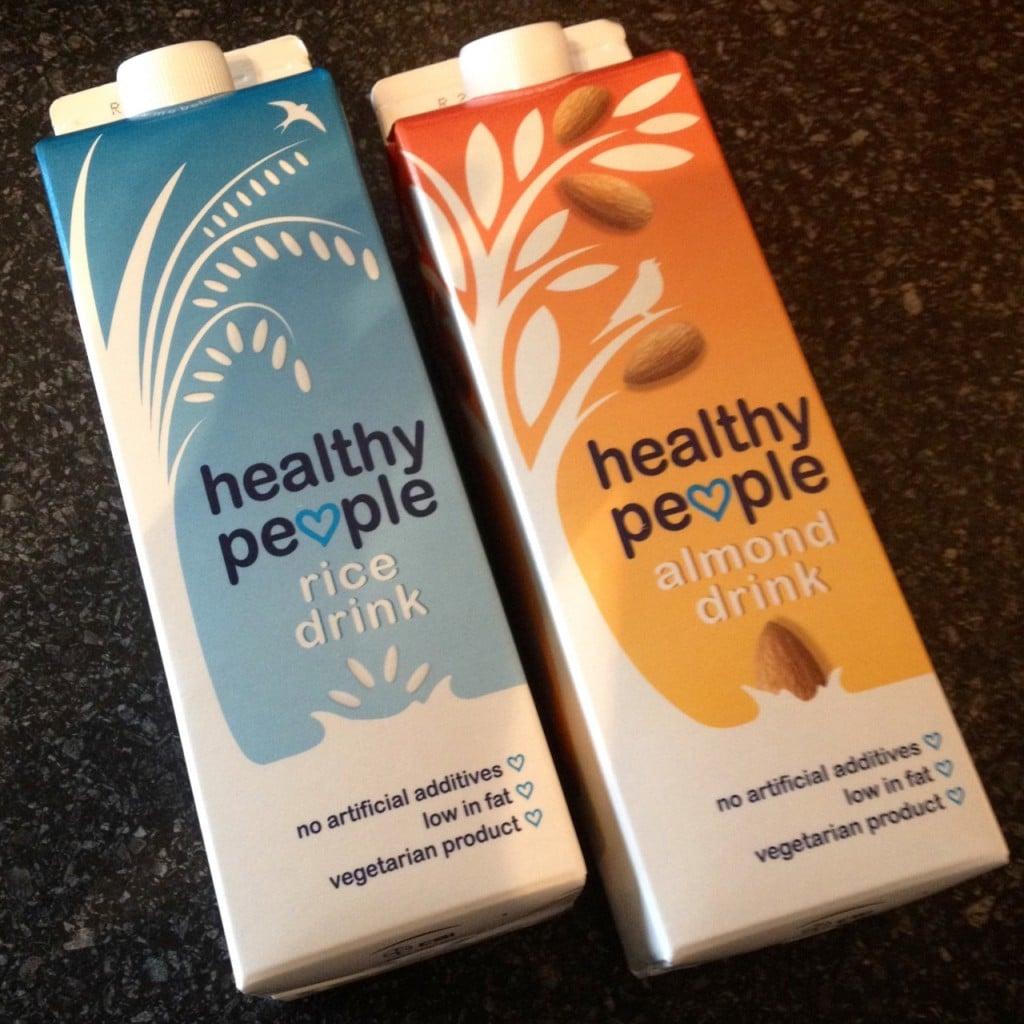 Healthy people amandel- en rijstdrink