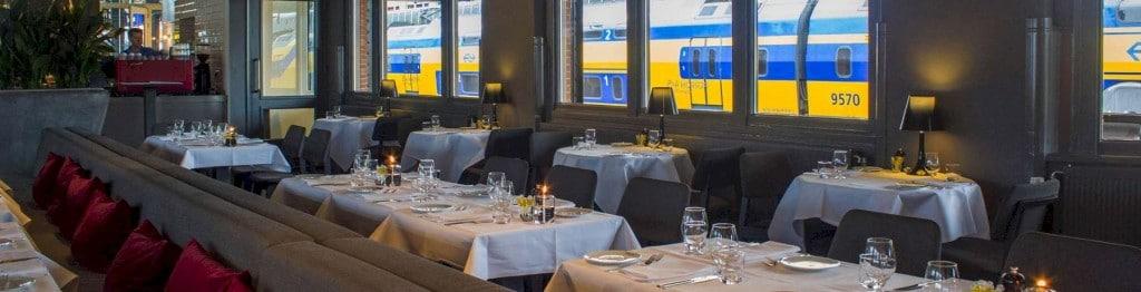 Bijzondere restaurants in voertuigen: perron 4/5