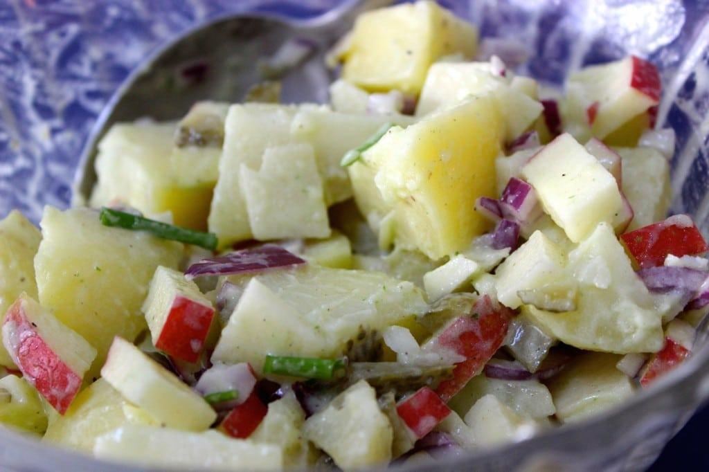Lekkerste Duitse recepten: Aardappelsalade
