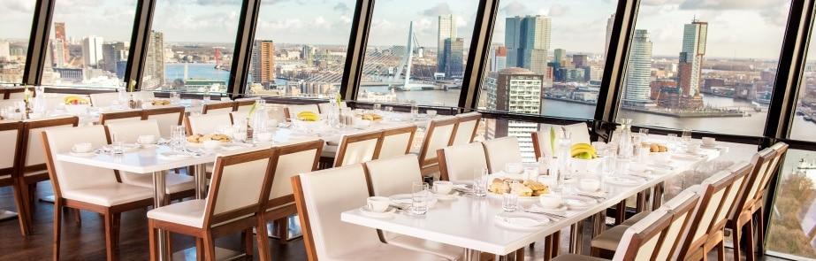 Bijzondere restaurants op grote hoogte: Euromast