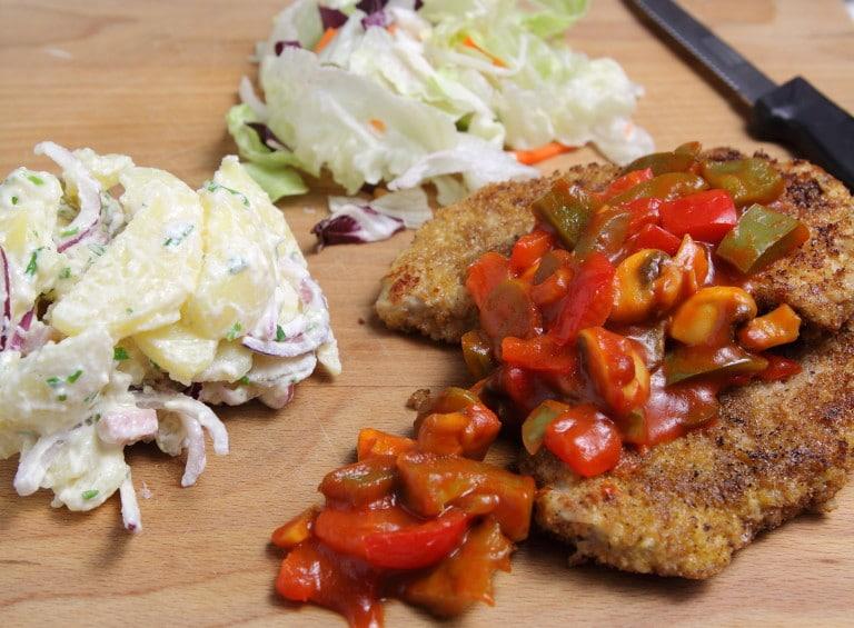 De lekkerste Duitse recepten: Zigeunerschnitzel
