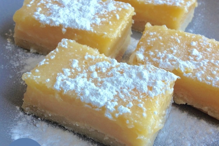 Lemon bars (foodblogswap)