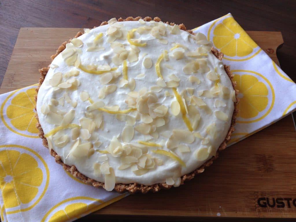 limoncello-ricotta taart