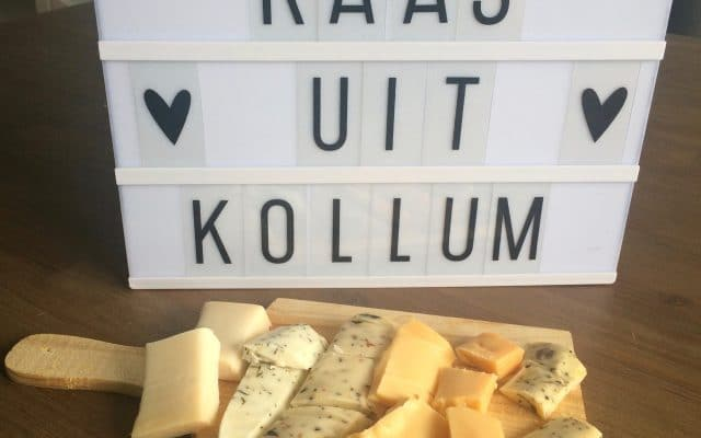 My happy kitchen test: kaas uit Kollum