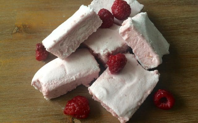 Frambozen marshmallows