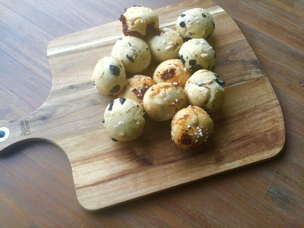 mini focaccia broodjes 2
