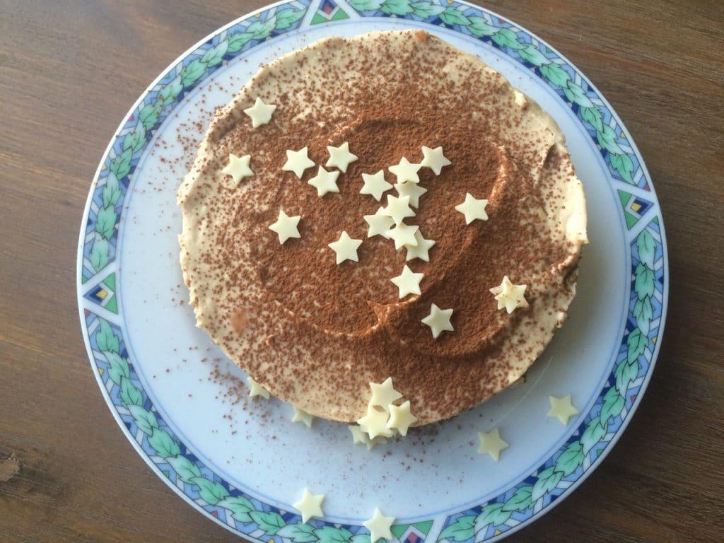 Koffie cheesecake 2