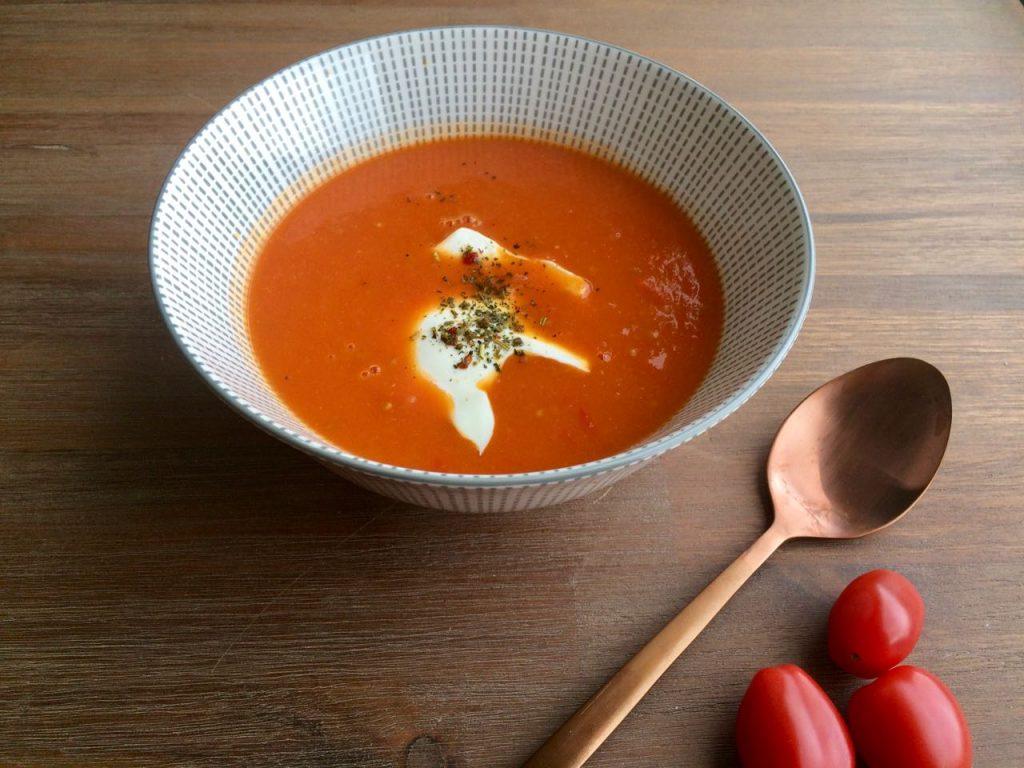 Tommies de basis voor zoete tomatensoep