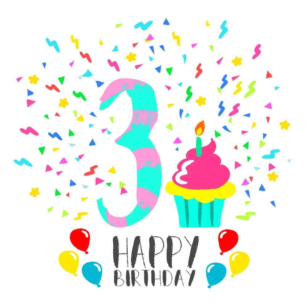 3e verjaardag
