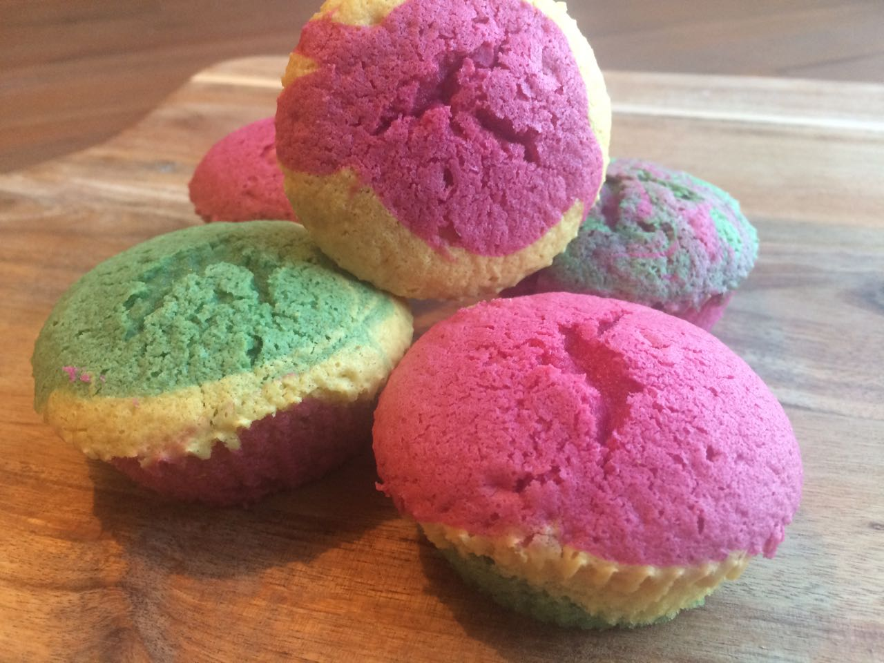 Fred & Ed kleurenpret cakjes