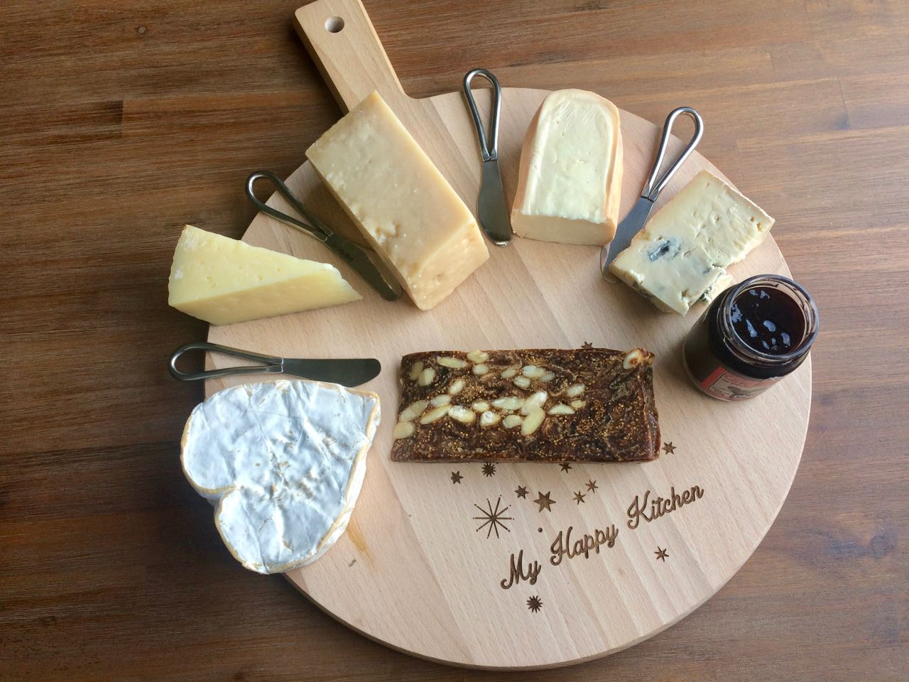 Het perfecte kaasplankje