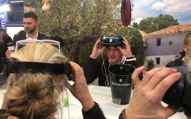 virtual reality wijn proeven