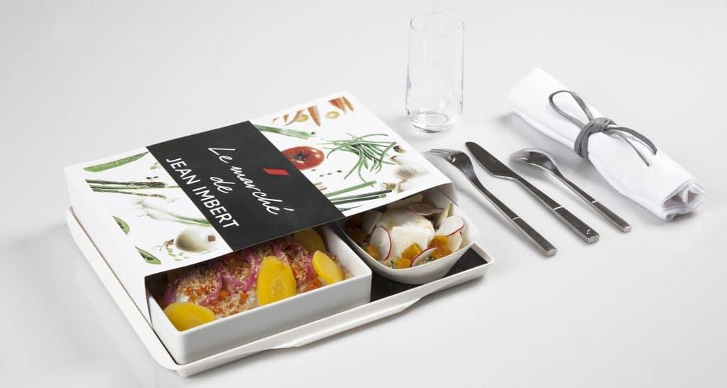 eten in het vliegtuig: air france
