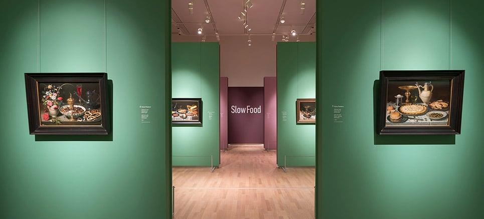 Slow food zaal