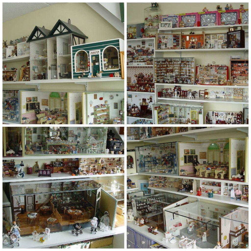 Poppenhuizen van mijn ouders: De hobbykamer