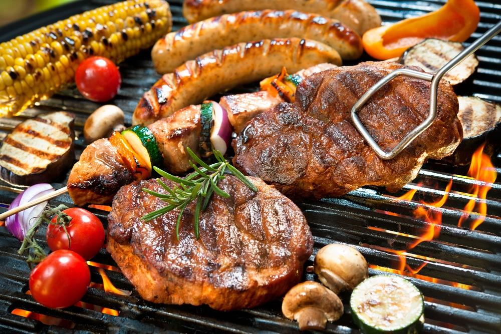 opening van het BBQ-seizoen