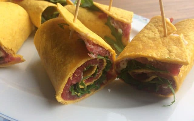 No Fairytales: carpaccio wraps!