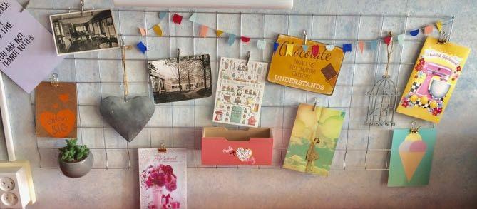 DIY kaartenrek of showrek
