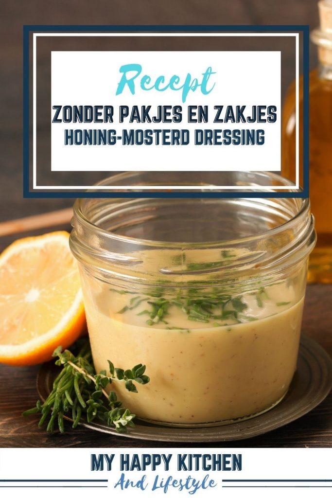 Pinterest pin honing-mosterd dressing