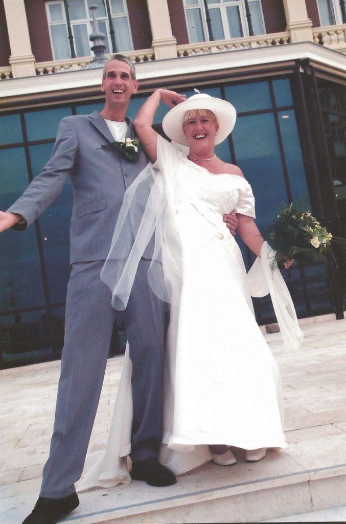 25 jaar happy trouwfoto