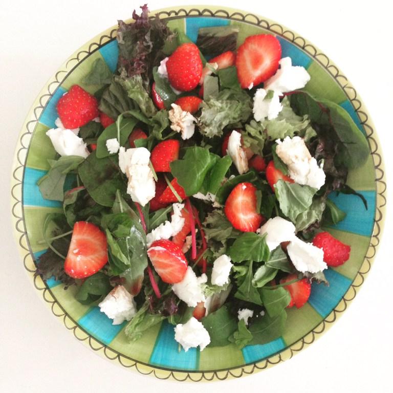 aardbeiensalade