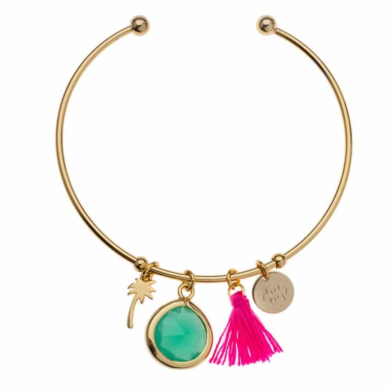 orelia-summer-charm-open-bangle-armband