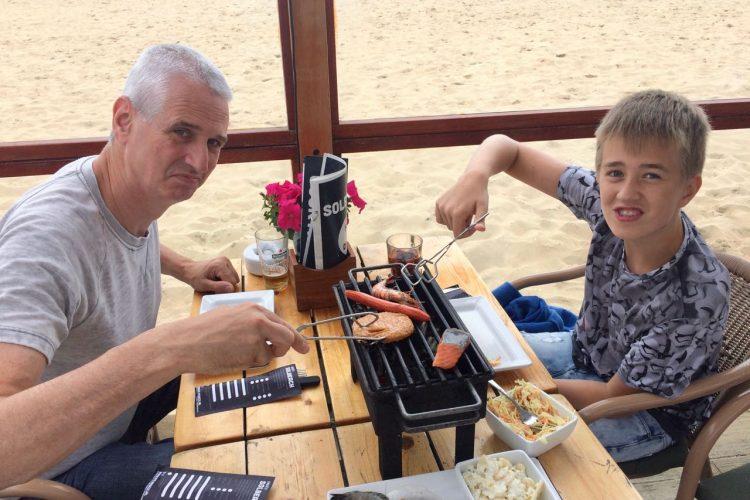 Het ultieme vakantiegevoel: barbecuediner bij Solbeach
