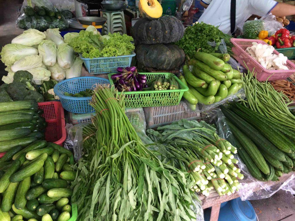 Thaise keuken: groente