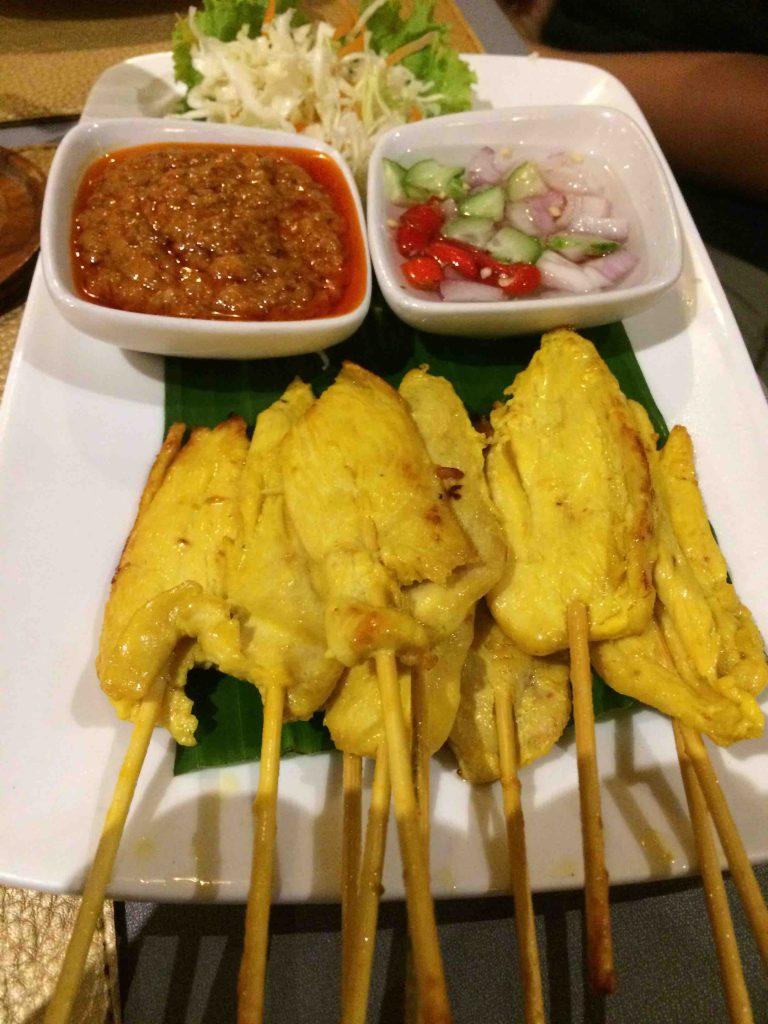 Thaise keuken: saté